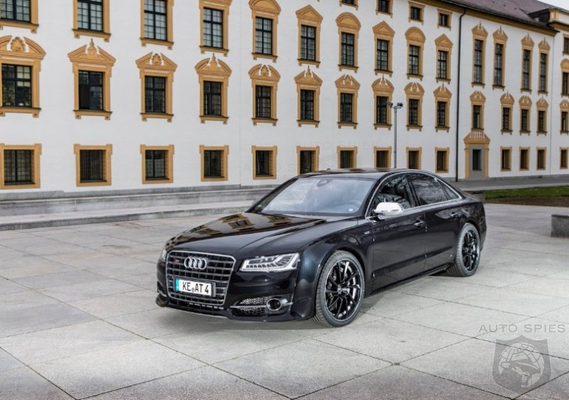 Are YOU Stuck Waiting For An Audi RS8? Stop Holding Your Breath, Check Out ABT's 600 Horsepower PLUS Monster
