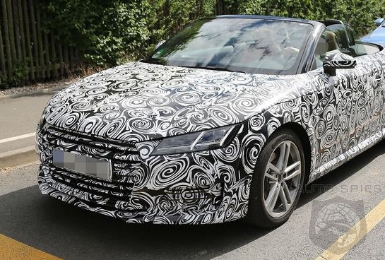 SPIED: All-New Spy Shots Of The Upcoming Audi TT Roadster Hit The 'Net