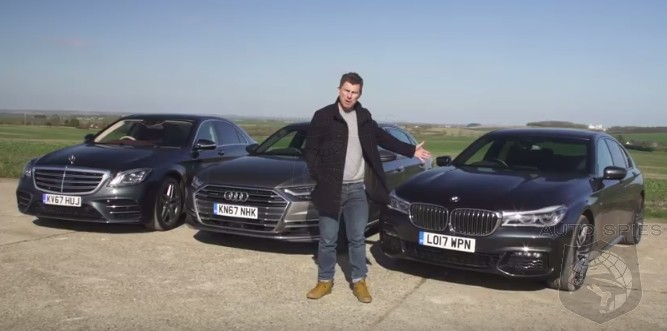 Car Wars Luxury Barge Showdown All New Audi A8 Vs Bmw 7 Series Vs