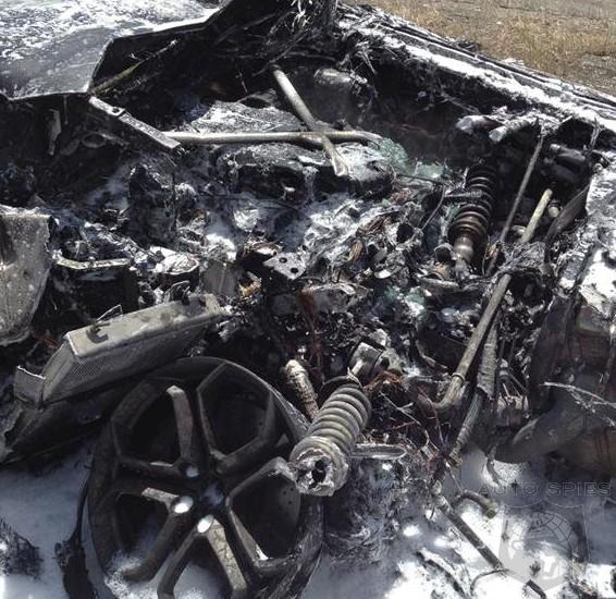 Lamborghini Aventador Fire 3