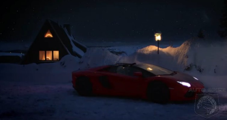 VIDEO: Lamborghini Offers Us A Glimpse Into Santa's Christmas Eve...