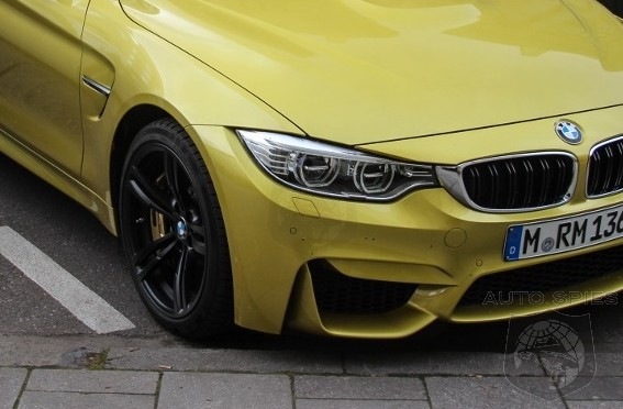 SPIED: NEW Shots Of The All-New BMW M4 Captures It ON THE STREET