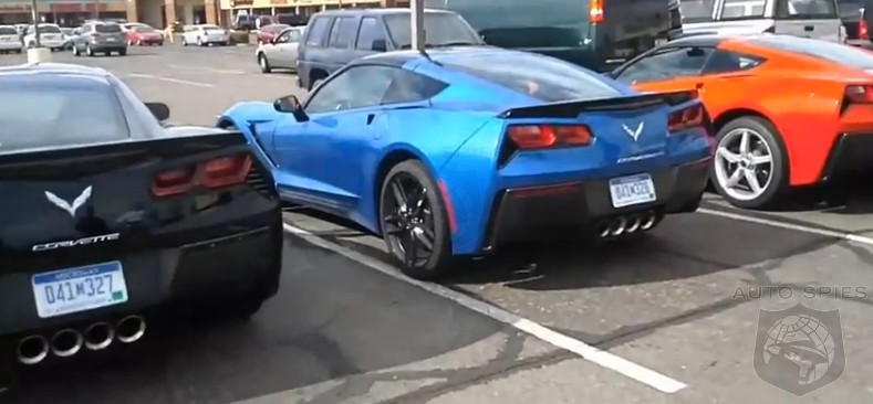 SPIED: Not One Or Two, But THREE 2014 Chevrolet Corvette