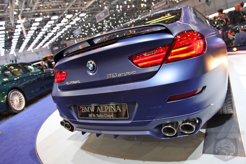 GENEVA MOTOR SHOW Alpina Spices Up The BMW Series Does It Get - Bmw 6 series alpina