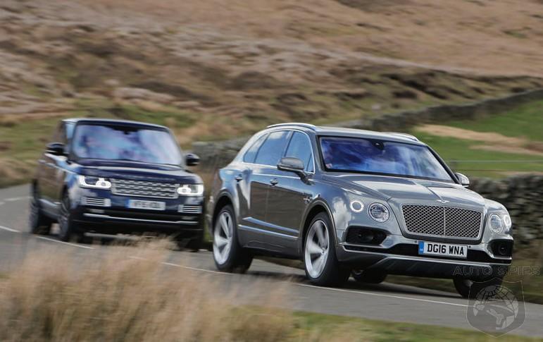 Bentley Bentayga vs Range Rover: High Performance SUV Drag ...