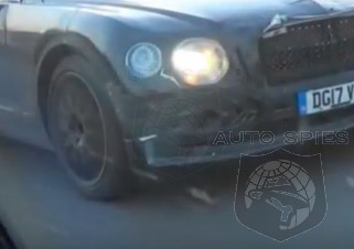 SCOOP! SPIED For The FIRST Time On Camera, We See The All-New Bentley Flying Spur In ACTION