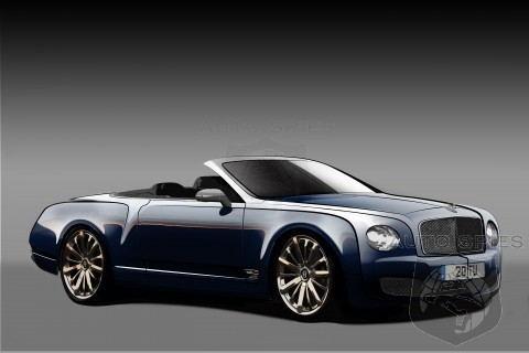 New Information On Bentleys Proposed Mulsanne Convertible