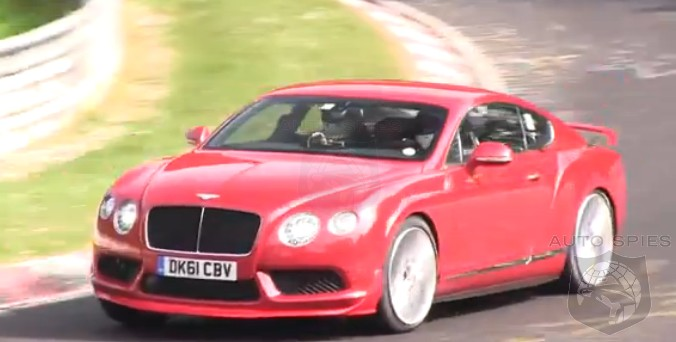 SPIED + VIDEO: ANOTHER Sighting Of The Mystery Bentley Continental GT3/RS/Whatever Is In The Works