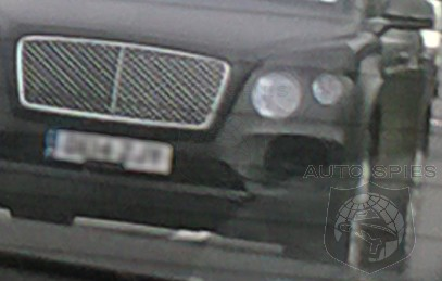 SPIED On The STREET: Bentley's All-New SUV Nabbed Testing On Public Roads