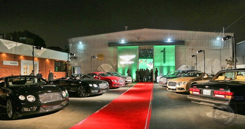 LA AUTO SHOW: Party With Bentley On The Red Carpet