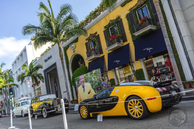 FIRST And BEST Photos From The 2014 Rodeo Drive Concours! NEW and OLD, We Got 'Em!