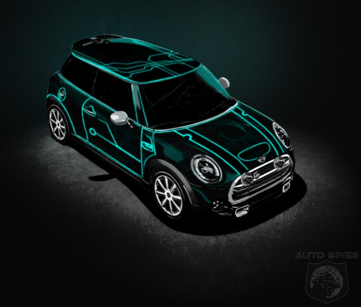 NEW YORK AUTO SHOW: MINI Gives Us A Taste Of A Trippy, Blacklight-Influenced Cooper, You FEELIN' It Yet, MAN!?