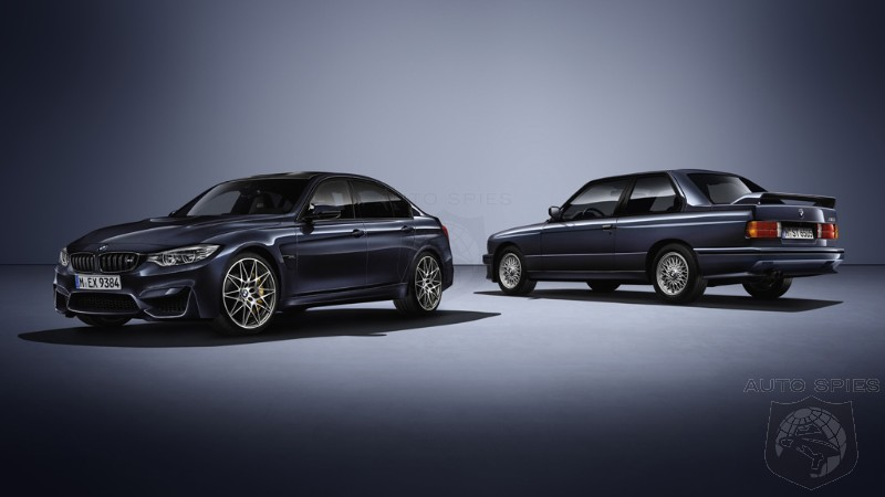 OFFICIAL BMW Celebrates 30 Years Of M3 Goodness With The 30 Jahre M3