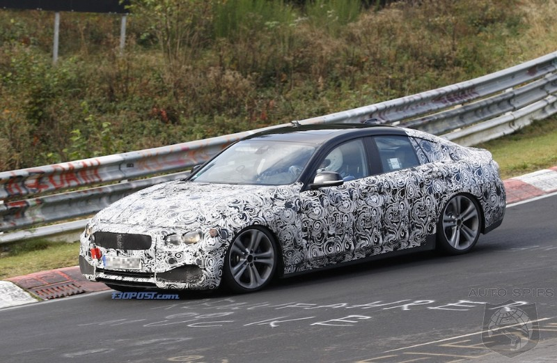 SPIED: FIRST Spy Shots Of BMW's Upcoming 4-Series Gran Coupe On The Track