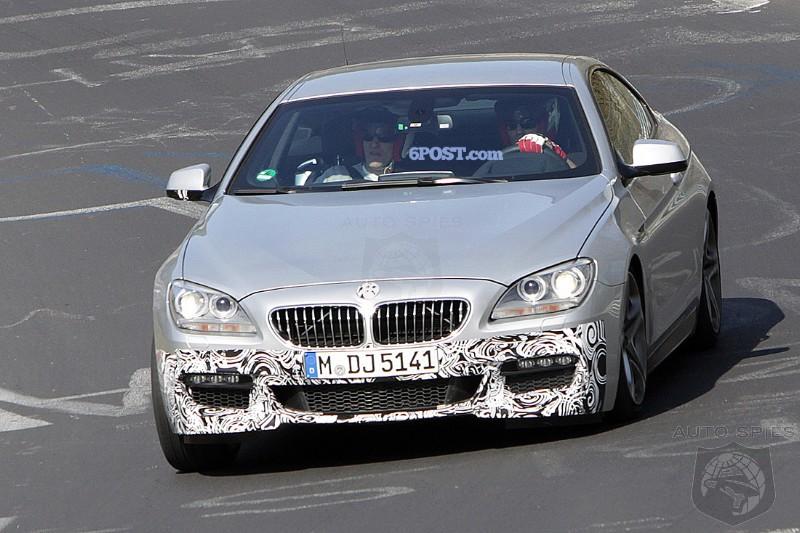 SPIED: FIRST Look At 2012 BMW 6-Series M-Sport Package