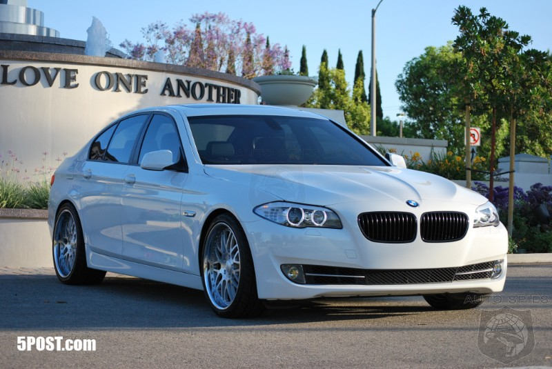 First Modified 2011 Bmw 5 Series What Mods Would You Do