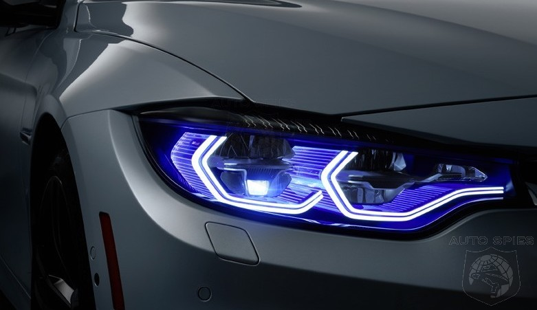 CES BMWs M4 Iconic Lights Concept Will DAZZLE You With Its LASER