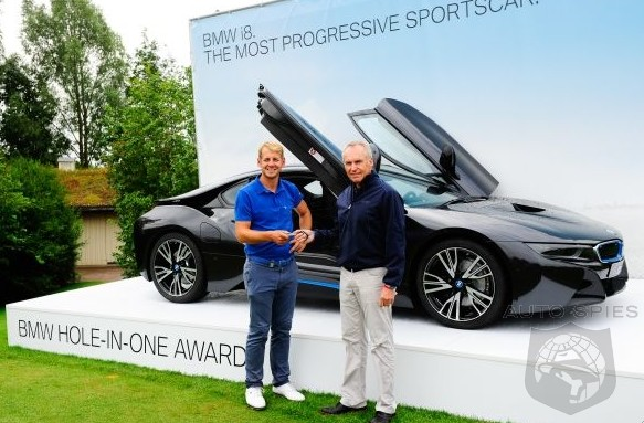 Pro Golfer James Heath Nails A Hole-In-One And Now Needs To Clear Some Room In His Garage For An i8
