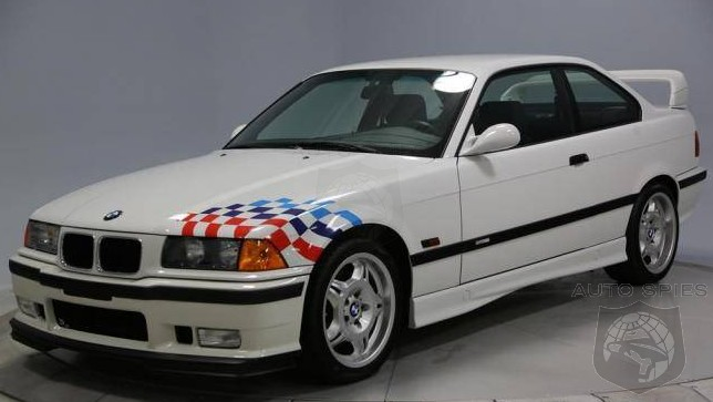 Wow Take A Time Warp With A Mint Bmw E36 M3 Ltw From The