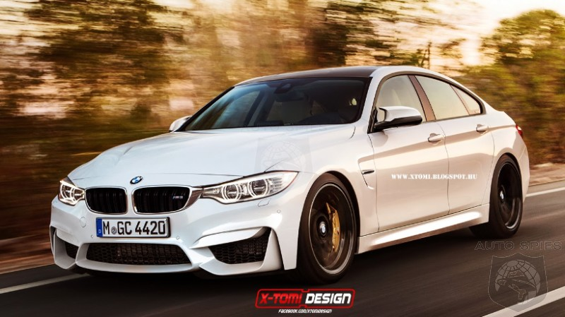 RENDERED SPECULATION: Would A BMW M4 Gran Coupe Be BMW's Latest Four-Door Coupe's Saving Grace?