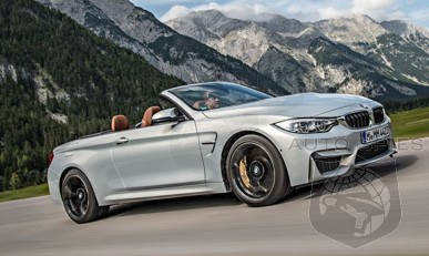STUD or DUD: All-New Shots Of The 2015 BMW M4 Convertible In Moonstone — Are You Captivated Or LESS Than Impressed?
