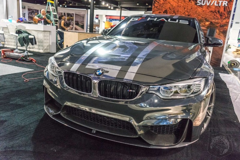 Bmw Aftermarket Parts >> Semashow Bmw M Fans Unite First Look At Sema S Aftermarket Parts