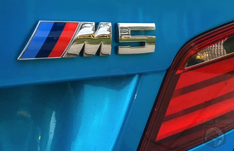 STUD or DUD: Is This One Of The HOTTEST Colors On A New BMW M5? Get A Look At Jet Blue...