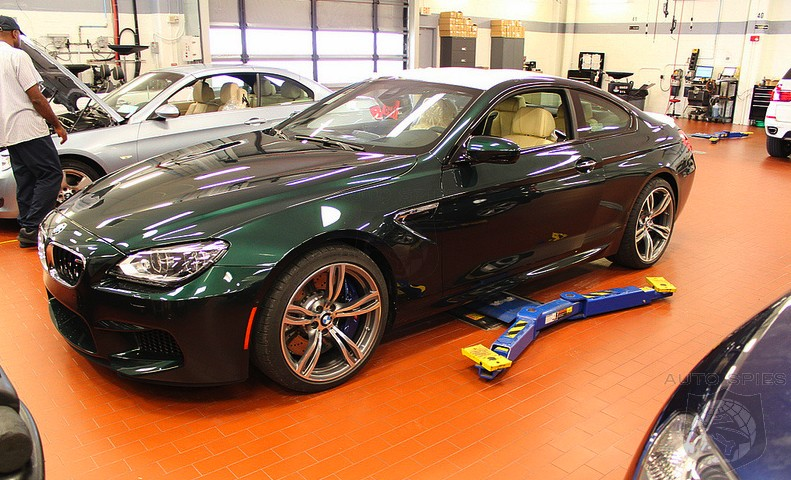 AWESOME or AWFUL: Does This Oxford GREEN BMW M6 Leave You GREEN With Envy?