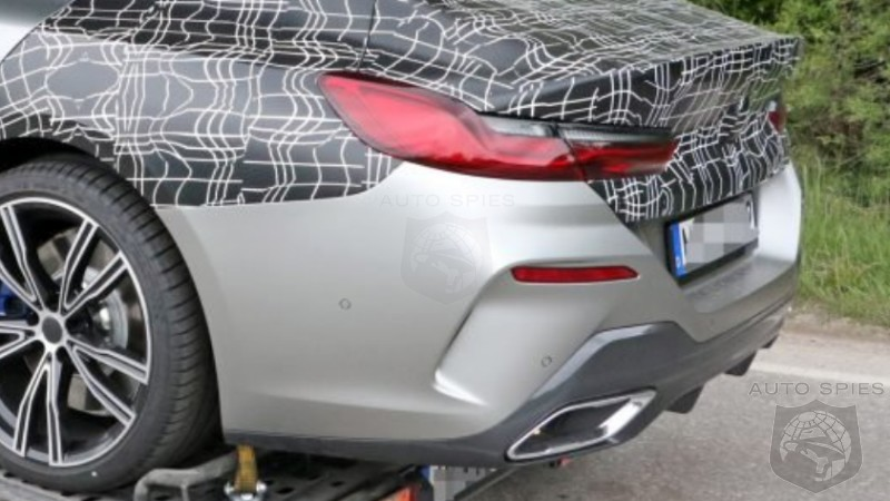 Exposed Bmws Upcoming 8 Series Gran Coupe Prototype Nabbed Nearly