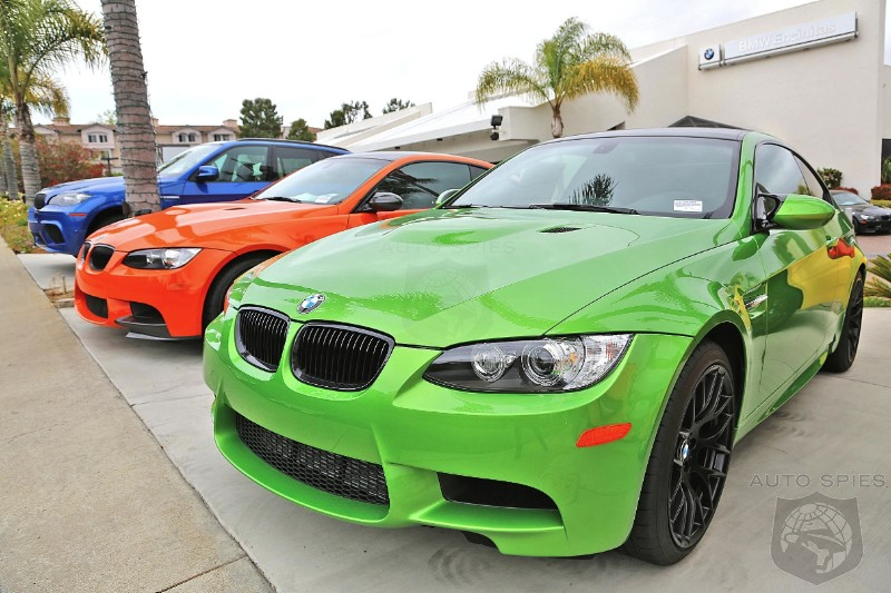 Dream Display Of BMWs In RARE And HOT Colors
