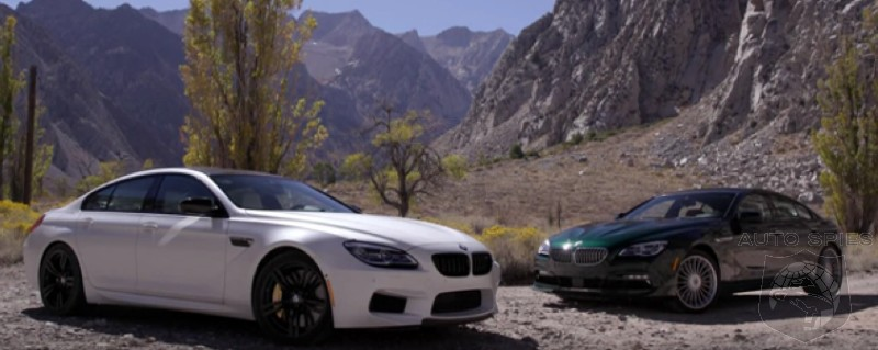 CAR WARS Sibling Rivalry BMW s M6 Gran Coupe Squares Off Against The Alpina B6