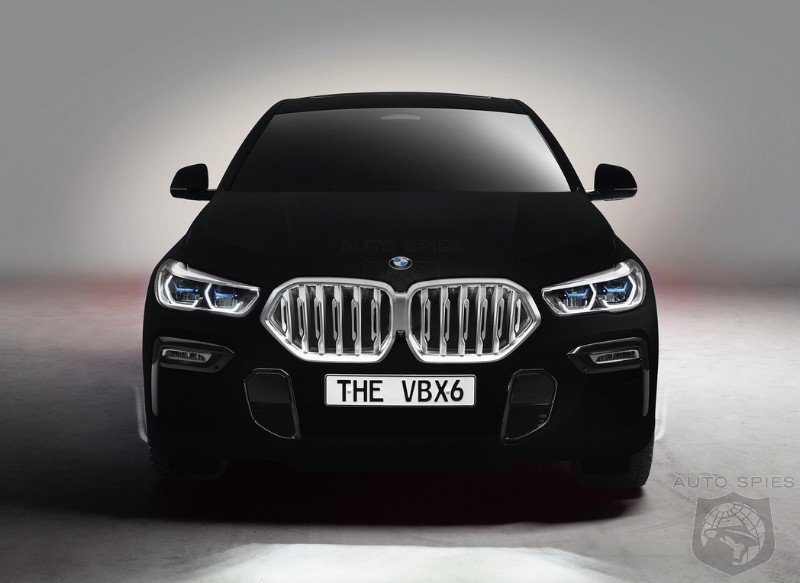 #IAA: WEIRD and WONDERFUL — BMW's Vantablack X6 Is The STRANGEST Thing You'll See In Motion