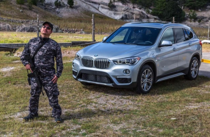 FIRST Real Life Pics Of The 2016 BMW X1 Agent 001 Brings Northern Mexico To YOU