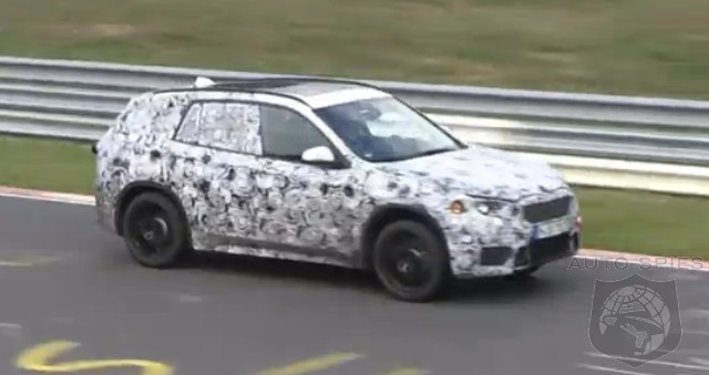 SPIED + VIDEO: BMW's Next-Gen X1 Geting WRUNG OUT At The Nürburgring