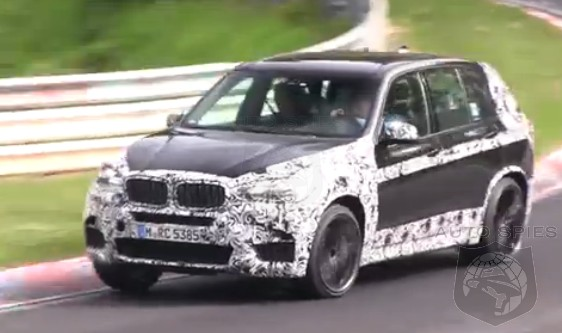 SPIED + VIDEO: BMW's Next-Gen X5M Spotted Getting A Workout On The 'Ring — Notice Anything?