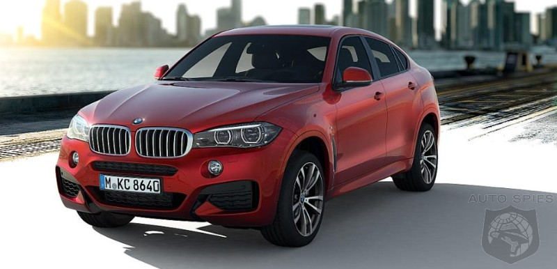 FIRST Photo Of The All-New BMW X6 M Sport — Does It Make THAT Much Of A Difference That You NEED It?