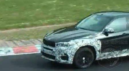SPIED + VIDEO: TWO For The Price Of ONE — BMW X6Ms Getting Exercise Around The Green Hell