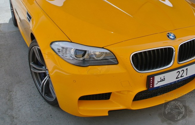 SEEN & HEARD: An Atacama Yellow BMW M5 — Does It Blow Your Socks Off Or Leave YOU Cold?