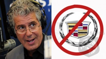 Anthony Bourdain FURIOUS Over Travel Channel Sneaking Cadillac Into His Final Show