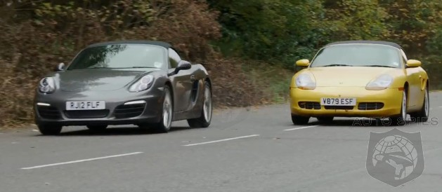 VIDEO: Porsche's All-New Boxster Has A Come-To-Jesus Meeting With The First-Gen Boxster