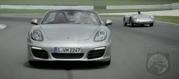 VIDEO: Porsche's All-New Boxster Just Wants To Play With Its Elders