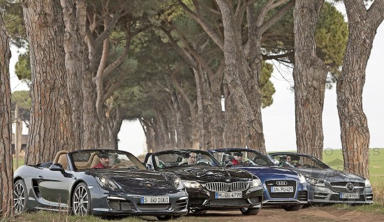 Roadster SHOWDOWN: Can Porsche's All-New Boxster Fend Off The Z4 iS, SLK AMG And TT RS?