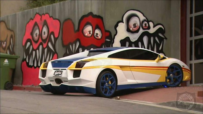 """Chris Brown Cars: Chris Brown's House """"Art"""" Is Douchy But Is His Car Even"""