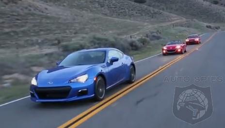 CAR WARS Subaru BRZ vs Hyundai Genesis vs Mazda MX5 Miata