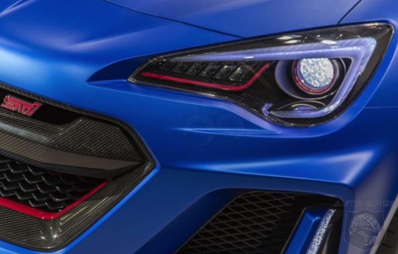 Nyias The Subaru Brz Brings Y Back As Sti Performance Concept But