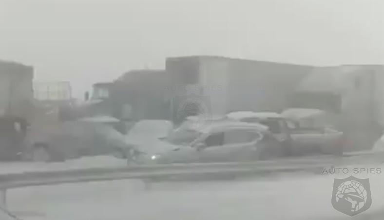 MAJOR Car Crash In Buffalo Yields 1 Death, Involves About 20 Cars
