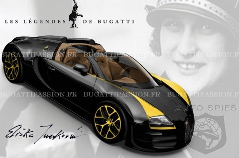 LEAKED! The NEXT Bugatti Veyron Special Edition To Honor FIRST Woman To WIN A Grand Prix