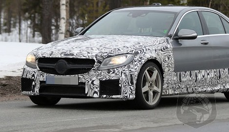 SPIED: MORE NEW Photos Of The All-New Mercedes-Benz C63 AMG