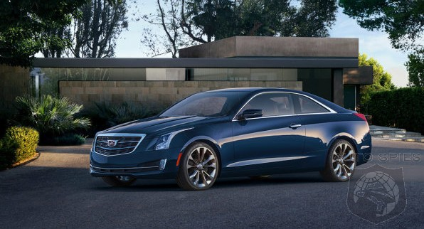 Cadillac PRICES The All-New ATS Coupe — Does ANYONE Have To Worry About It Stealing Market Share?