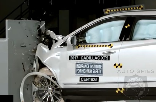 VIDEO: The 2017 Cadillac XT5 NAILS It When It Comes To Safety — IIHS Gives It A Top Safety Pick+ Rating